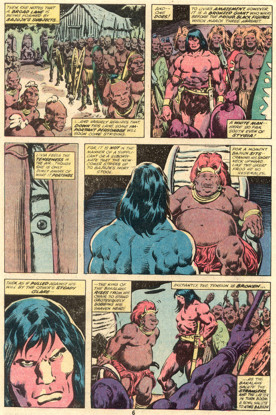 Conan the Barbarian (1970) Issue #104 #116 - English 5