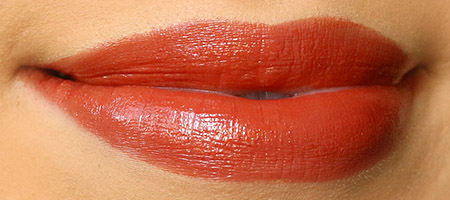 NARS Autumn Leaves Lipstick swatch