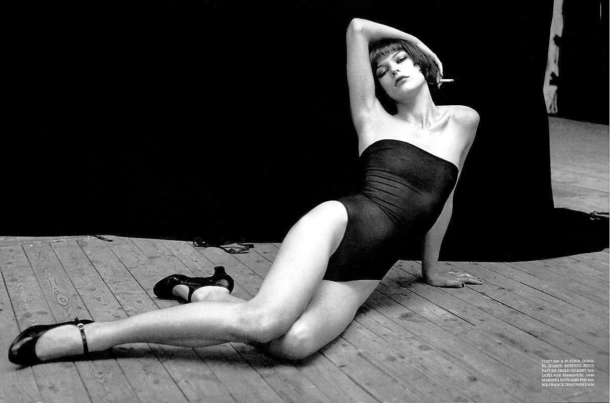 El desnudo integral de Milla Jovovich para Purple