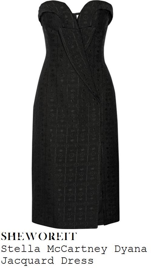 alesha-dixon-black-sweetheart-neckline-strapless-pencil-dress-bgt-auditions