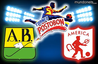 Bucaramanga Vs América de Cali - Torneo Postobon