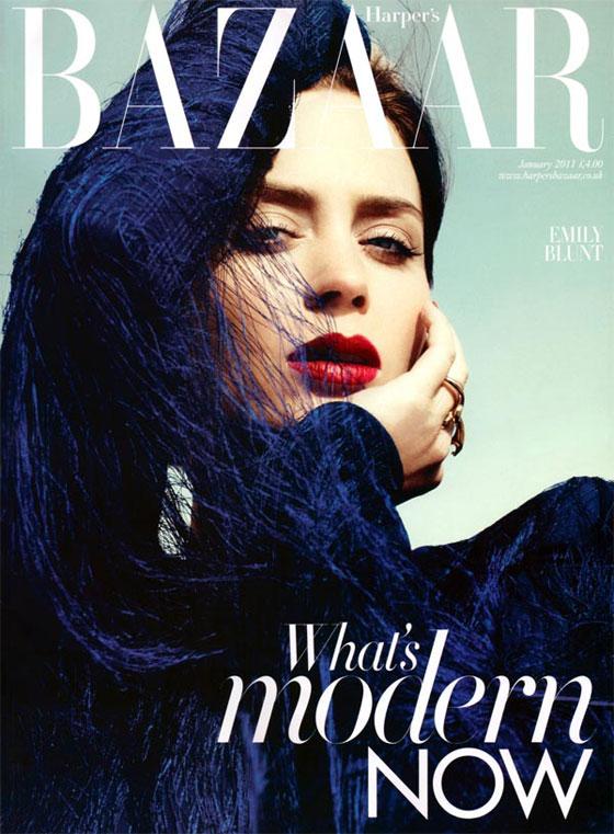 Harper's Bazaar UK enero 2011