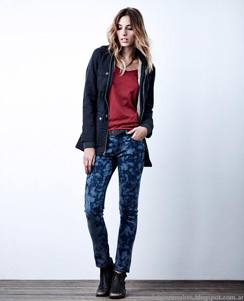 Moda invierno 2015. Pantalones invierno 2015 Wrangler.