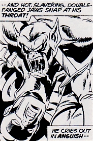 Avengers #129, Swordsman vs a vampire