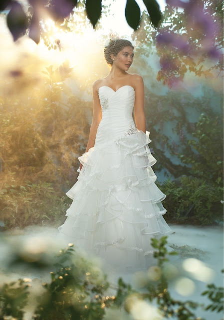 The 2013 Alfred Angelo Disney Fairy Tale Wedding Gowns - Tiana