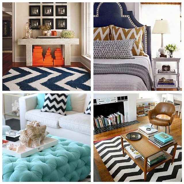 A touch of Luxe: a touch of luxe with chevron