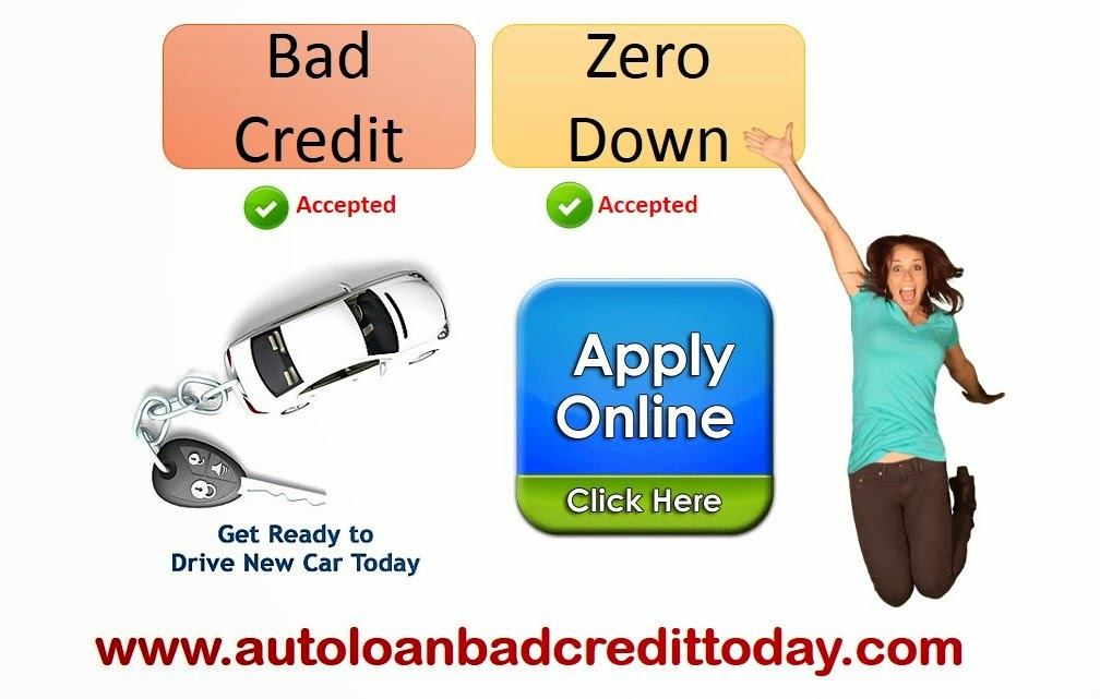 Bad Credit Auto Loan No Money Down Car Loan With No Money Down