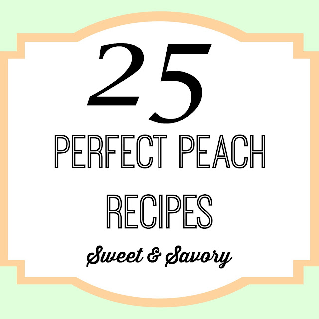 peach recipes desserts summer