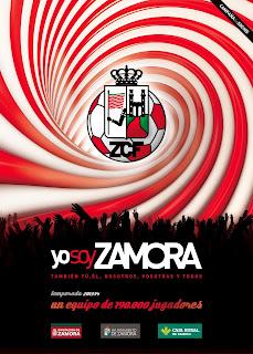 Yo soy Zamora. Cartel de la campaña 2013