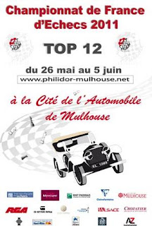 Echecs à Mulhouse : le Top 12 en Direct Live