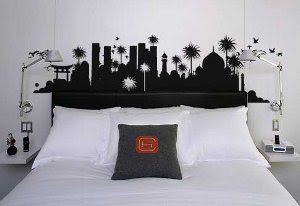 Jjsamplecmyk decoracion en vinilo cabeceros de cama - Vinilos cabecera cama ...
