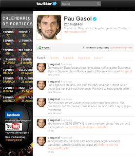 Twitter Pau Gasol