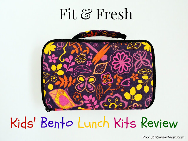 Fit & Fresh Kids' Bento Lunch Kits Review and Giveaway Ends 8/13  via  www.productreviewmom.com