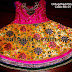 Lotus Work Kids Benaras Lehenga