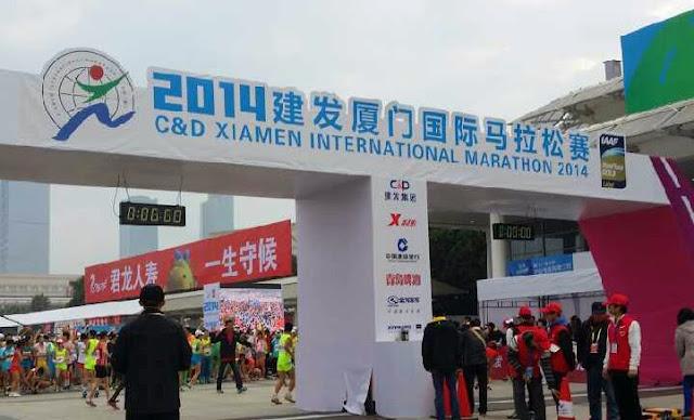 Largada Xiamen 2014