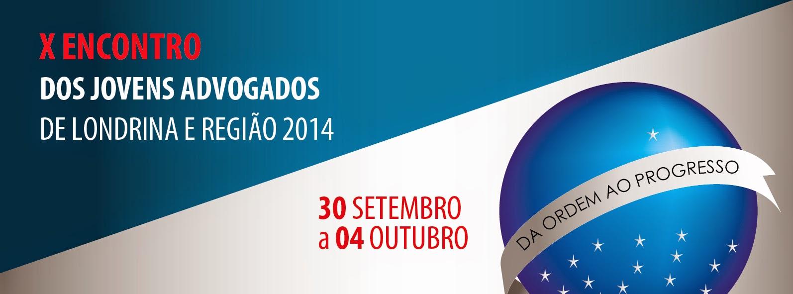 X Encontro dos Jovens Advogados de Londrina e Região