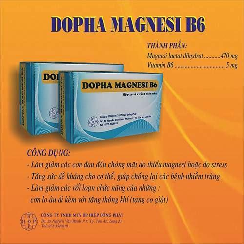 DOPHA MAGNESI  B6