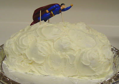 Superman Cloud Cake