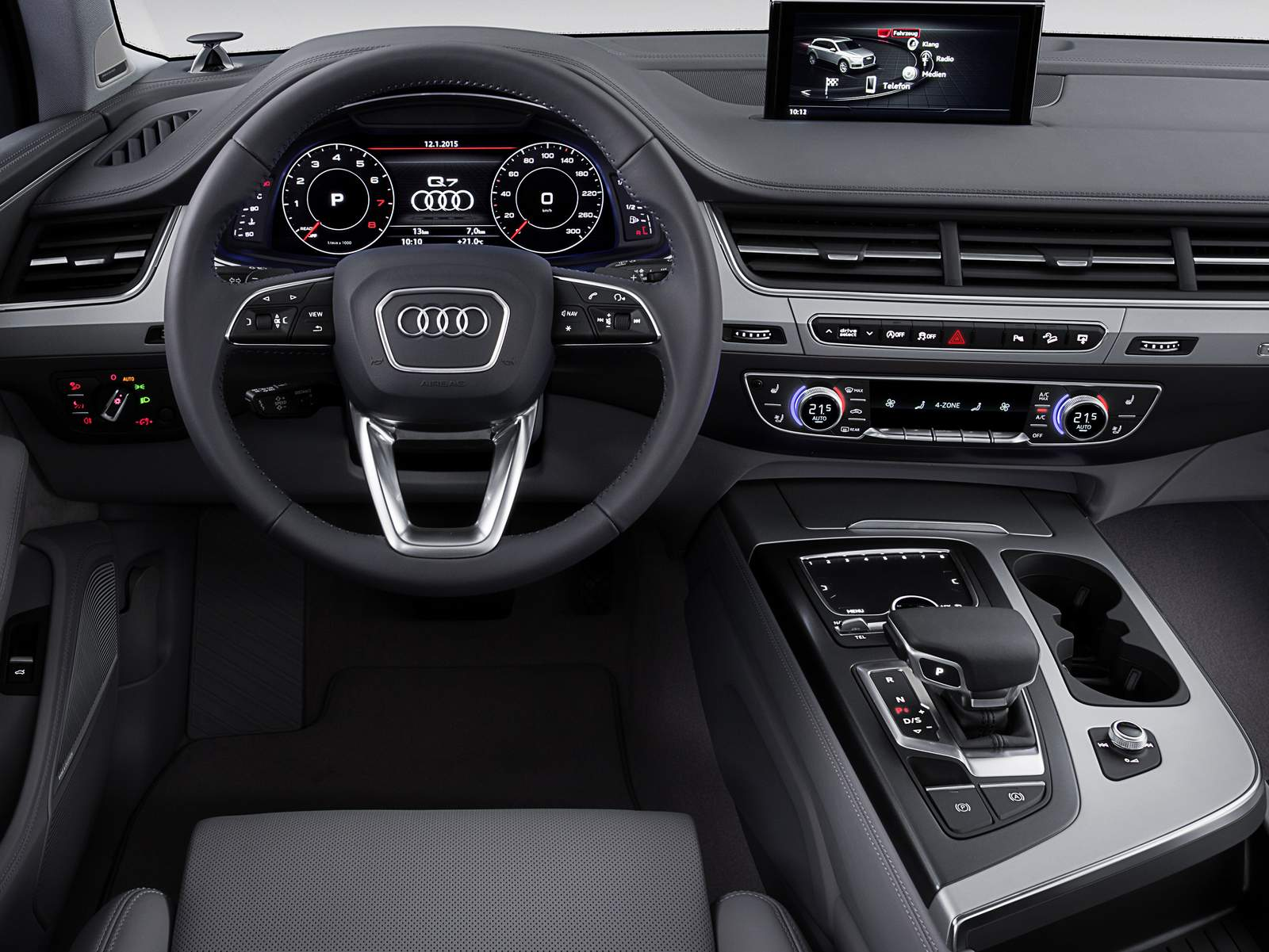 novo audi q7 2015 fotos e detalhes oficiais s o divulgados car blog br. Black Bedroom Furniture Sets. Home Design Ideas
