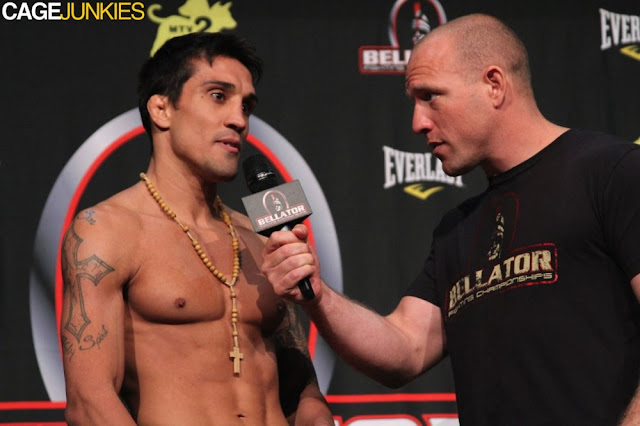 Rafael Dias Bellator 58 Weigh-In