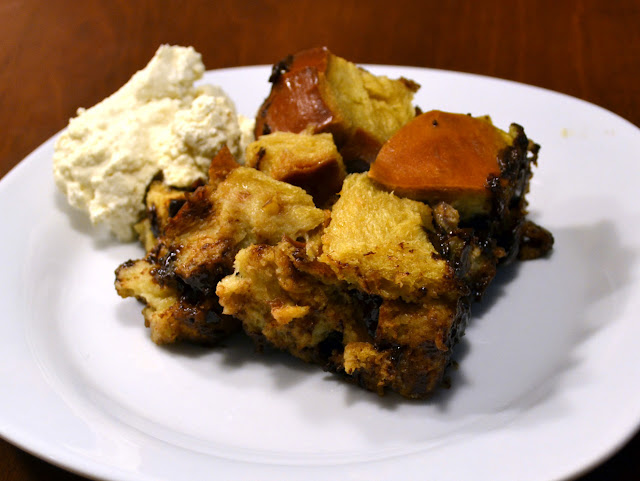 Chocolate Chip Bread Pudding ~ New York Food Journal