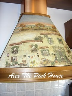 Alex the pink house mobili dipinti a mano - Decoupage mobili cucina ...