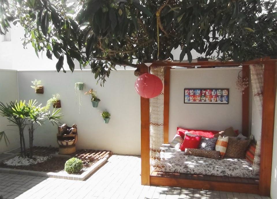 quintal jardim decoracao:De tudo um pouco: Cantinhos externos, quintais