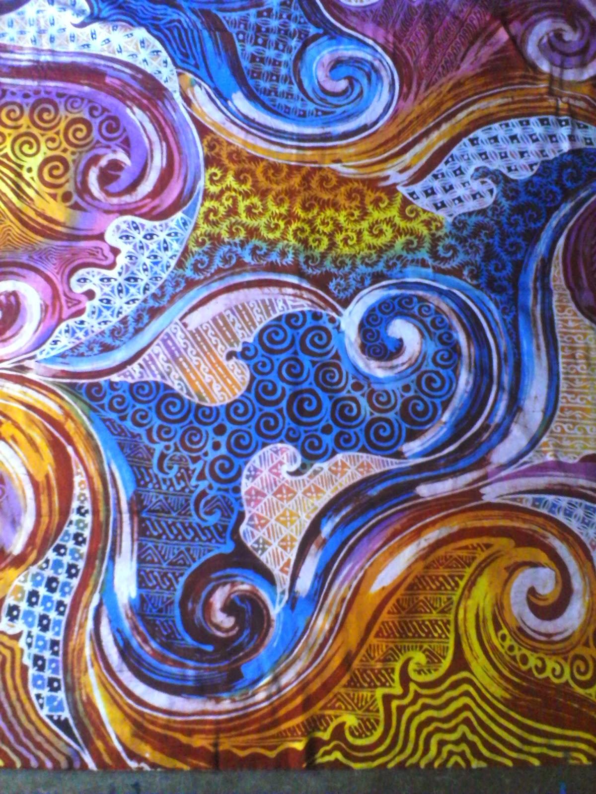 Sanggar Gubuk Batikku Batik Tulis Abstrak Kontemporer