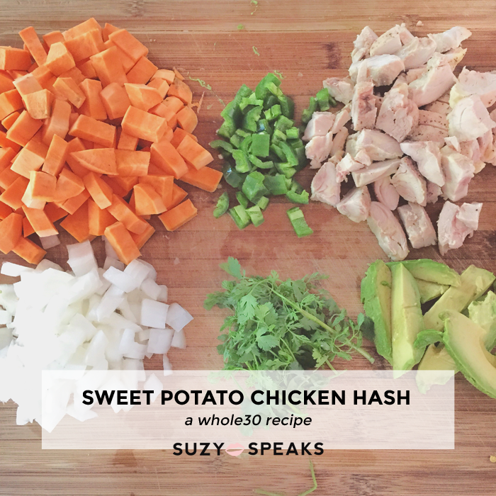 sweet potato chicken hash recipe
