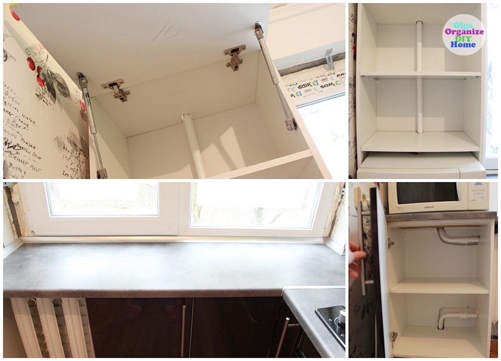 ремонт в кухне, кухня, мебель на заказ