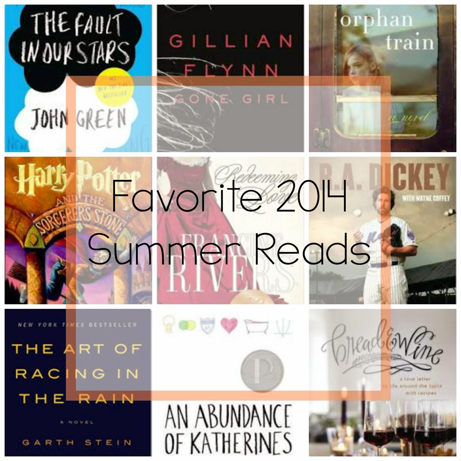 Favorite 2014 Summer Reads