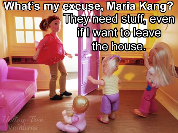 As the Dollhouse Turns responds to Maria Kang with needy kids by Robyn Welling @RobynHTV