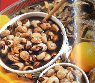 الببوش أو الحلزون على الطريقة المغربية