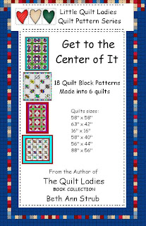 Six Quilt patterns in Get to The Center of It Quilt Patterns eBook