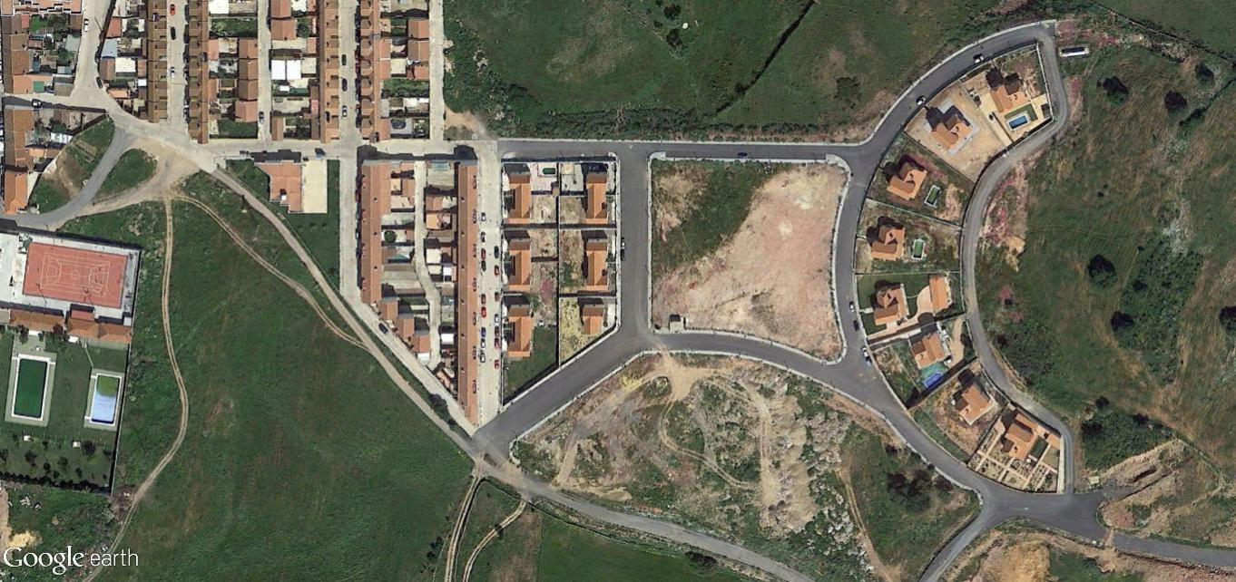 después, urbanismo, foto aérea,desastre, urbanístico, planeamiento, urbano, construcción, Alosno, Huelva