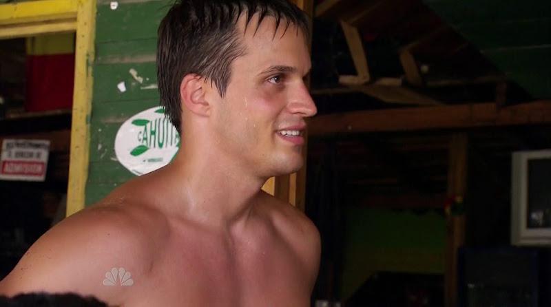 Miles Haefner Shirtless in Love in the Wild s1e07