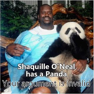 argument invalid shaq panda
