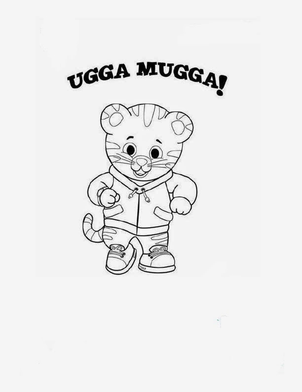 daniel tiger family coloring pages - photo#19
