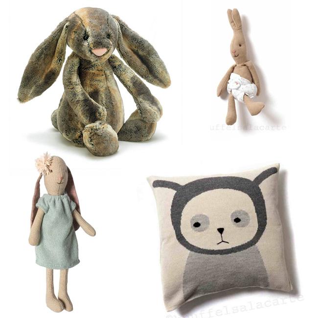 soft toys bunnies