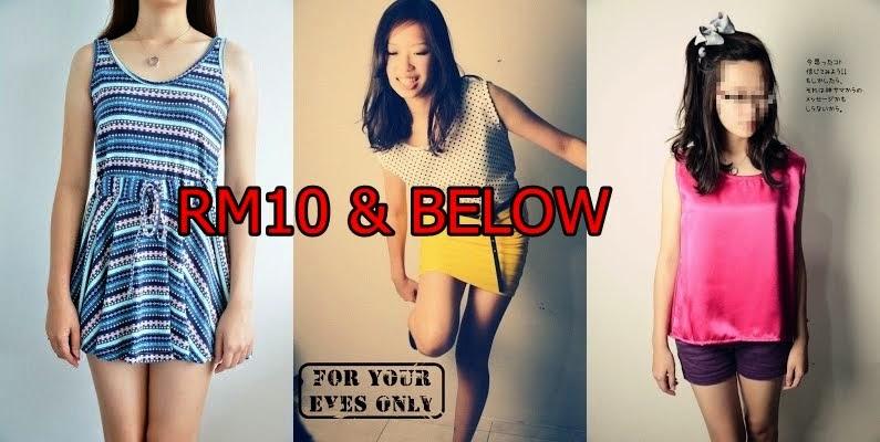 RM10 & Below