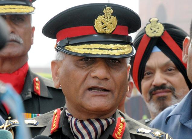Gen%2BVK%2BSingh Musharraf crossed LoC with troops in 1999: General VK Singh