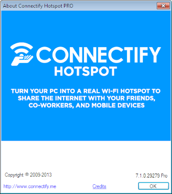 Connectify Hotspot PRO 7.1