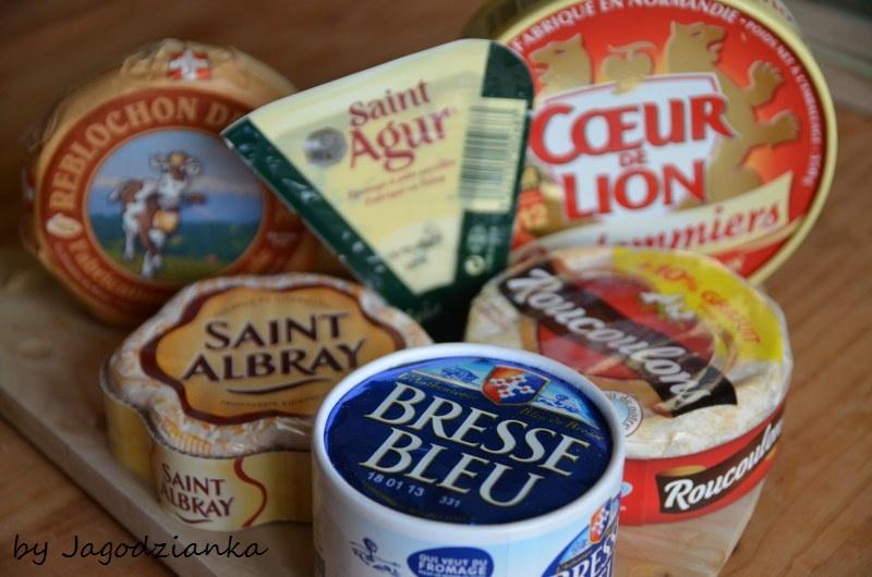 DEKUPAŻOWNIA JAGODZIANKI WĘDROWNIK PO FRANCARII  z cyklu  POLKA NA   -> Kuchnia Francuska Kremowy Mus Z Tunczyka