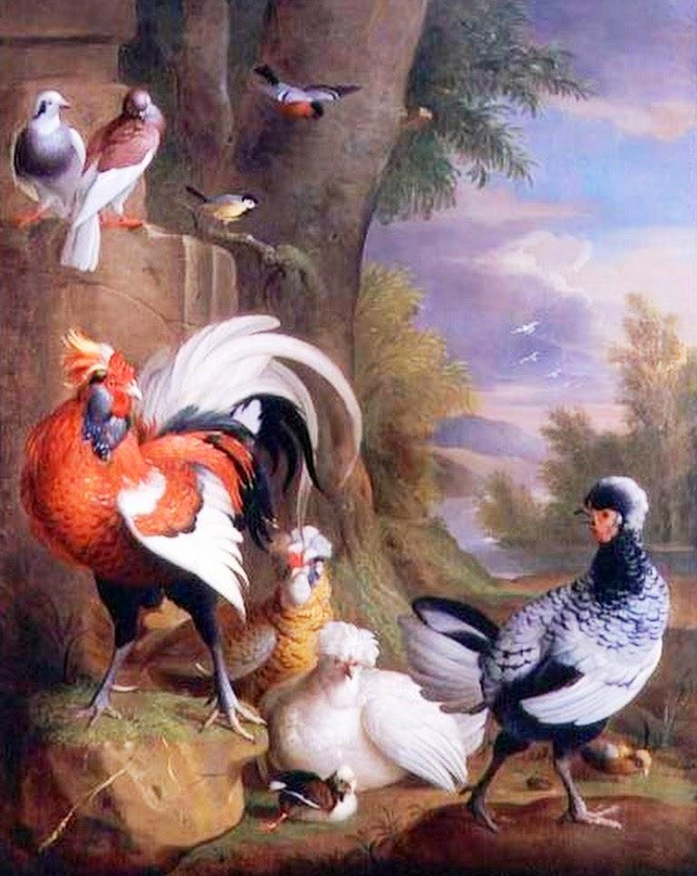 cuadros-pintados-de-pajaros-al-oleo