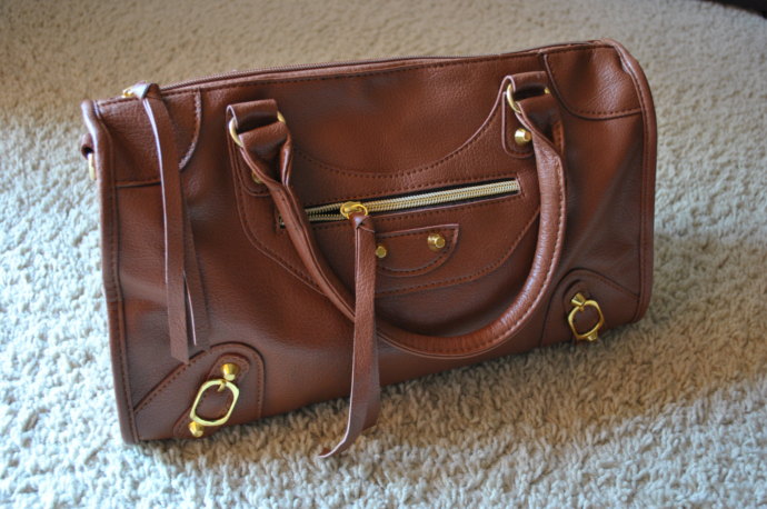 arafeel brown shoulder bag