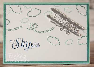 How To Make the Propeller on the Plane From The Sky Is The Limit Stamp Set Look Like It is Moving