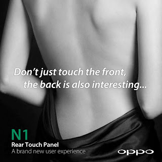 Oppo reach touch panel, Oppo Find 7, Oppo N1, smartphone camera