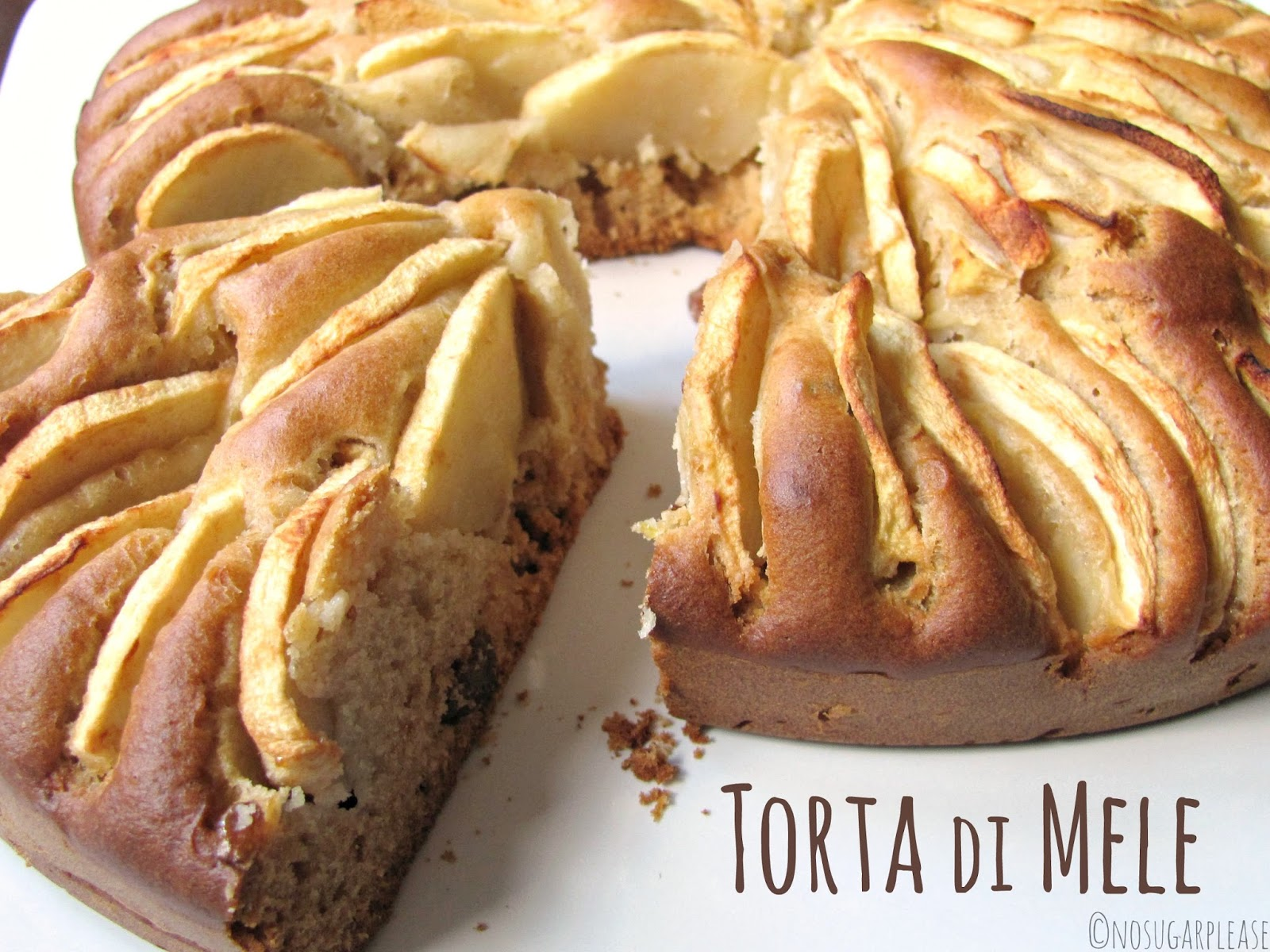 Ricette di torte di mele senza zucchero