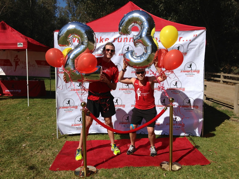 T2 Team to End AIDS runners celebrate 23 miles