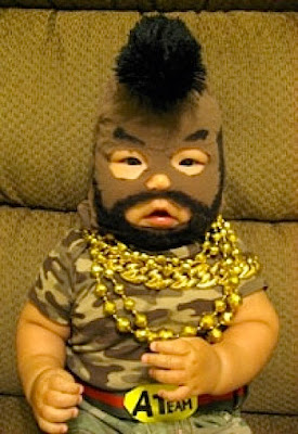 funny picture: baby with balaclava